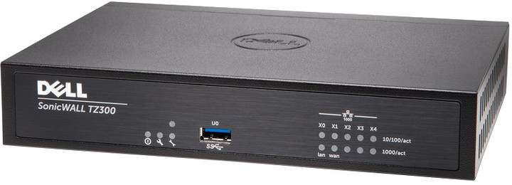 Dell SonicWall TZ300 Totalsecure firewall, podpora na 1 rok