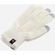 GoGEN Rukavice pro dotykové displeje, M, krémová