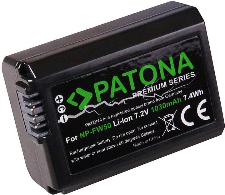 Patona baterie pro Sony NP-FW50 1030mAh Li-Ion PREMIUM