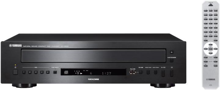 Yamaha CD-C600, černá