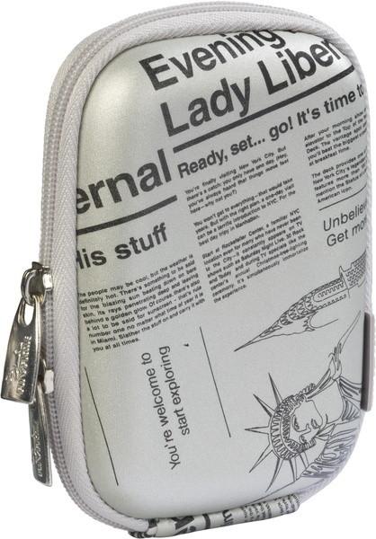 RivaCase 7103, stříbrná (newspaper)