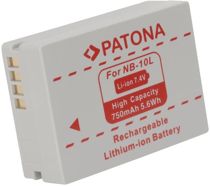 Patona baterie pro Canon, NB10l 750mAh