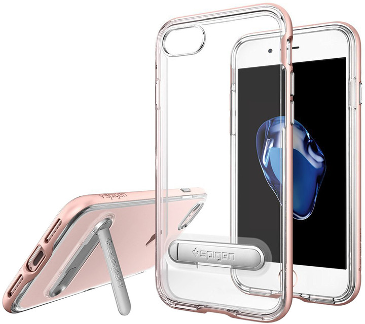 Spigen Crystal Hybrid pro iPhone 7, rose gold