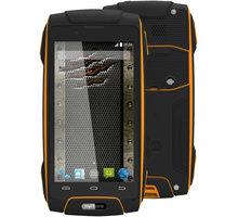myPhone HAMMER AXE 3G, oranžová/černá - TELMYAHAXE3GOR + Zdarma SIM karta Relax Mobil s kreditem 250 Kč
