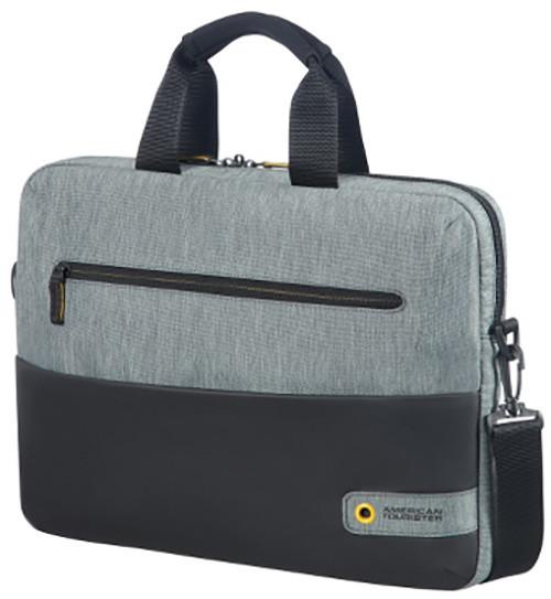 "Samsonite American Tourister CITY DRIFT BAG 13,3 - 14,1"", černá/šedá"