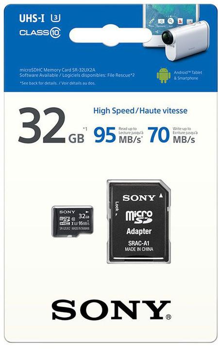 Sony Micro SDHC UHS-I 32GB