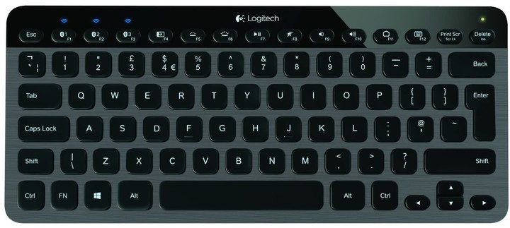Logitech Illuminated Keyboard K810, CZ
