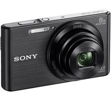 Sony Cybershot DSC-W830, černá - DSCW830B.CE3