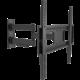 """GoGEN L držák polohovatelný, pro úhlopříčky 32"""" až 55"""", černá  + Kabel HDMI 1.4 high speed, ethernet, M/M, 1,5m, opletený, pozlacený, černá barva (v hodnotě 299,-)"""