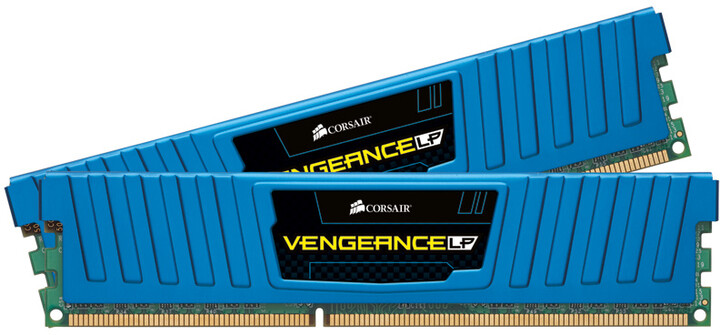 Corsair Vengeance Low Profile Blue 8GB (2x4GB) DDR3 1866