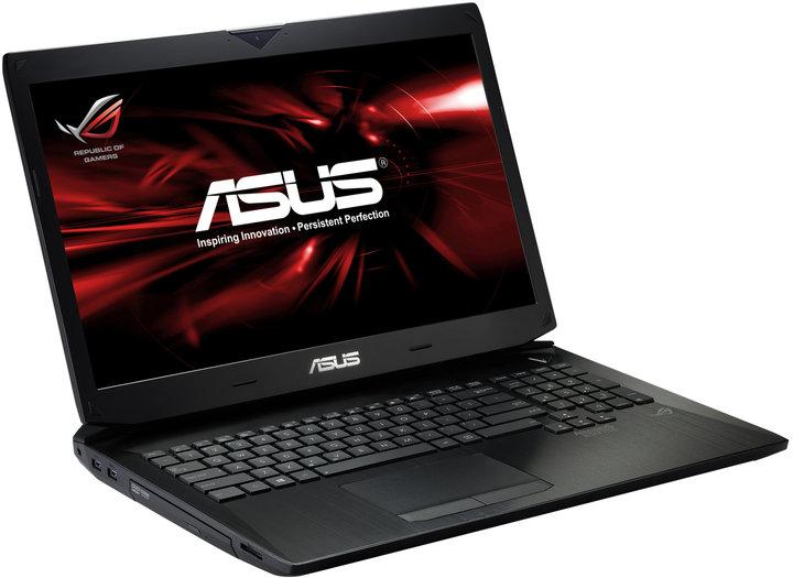 ASUS G750JW-T4042H, černá