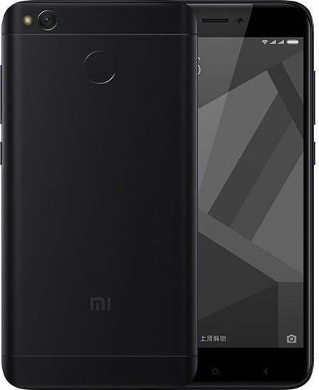 Xiaomi RedMi 4X LTE - 32GB, černá