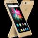 Allview X3 SOUL mini, Dual Sim, zlatá  + Zdarma SIM karta Relax Mobil s kreditem 250 Kč