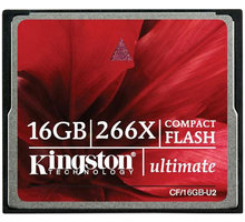 Kingston CompactFlash Ultimate 266x 16GB - CF/16GB-U2
