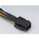 Akasa (AK-CB052), 6pin PCIe to 8pin PCIe2.0 cable adapter