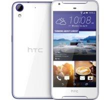 HTC 628, Dual Sim, bílá