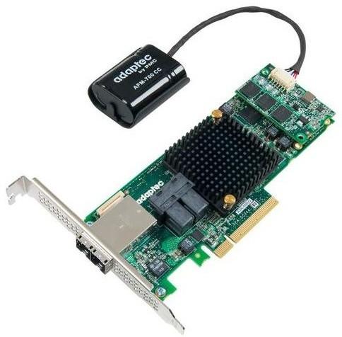 ADAPTEC RAID 8885Q Single SAS/SATA 16 portů (8x int., 8x ext.), x8 PCIe