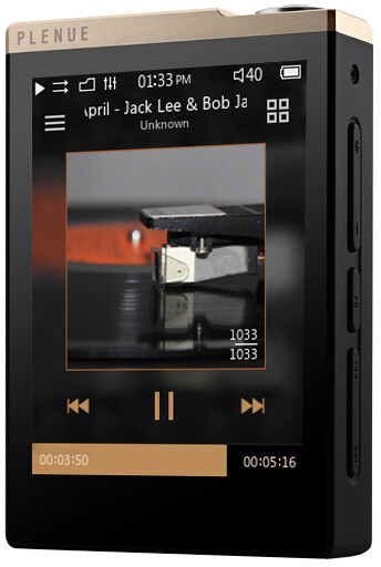 Cowon PD 32GB, zatá/černá