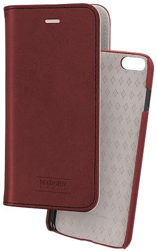 Madsen knížkové pouzdro 2 v 1 magnotické pro Apple iPhone 6/6s plus, červené