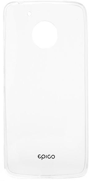 EPICO pružný plastový kryt pro Motorola Moto G5 RONNY GLOSS - bílý transparentní