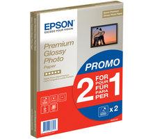 Epson Foto papír Premium Glossy, A4, 2x15 ks, 255g/m2, lesklý - C13S042169