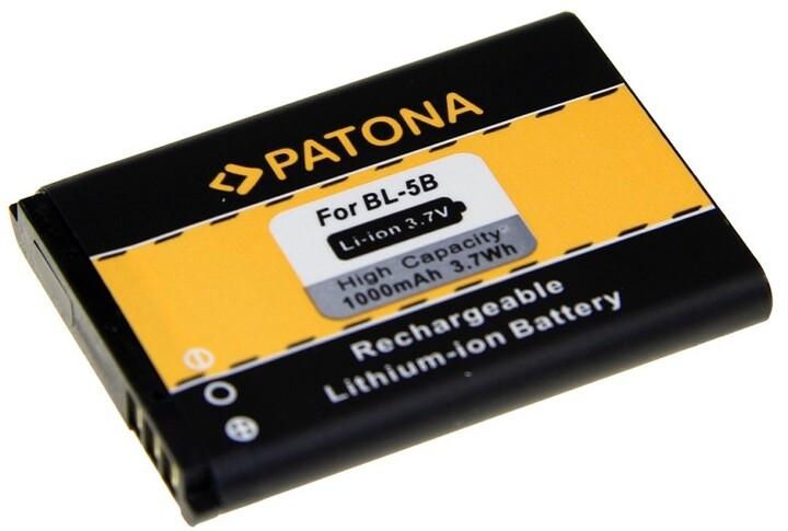 Patona baterie pro Nokia BL-5B 1000mAh 3,7V Li-Ion