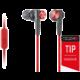 Sony MDR-XB50AP, červená