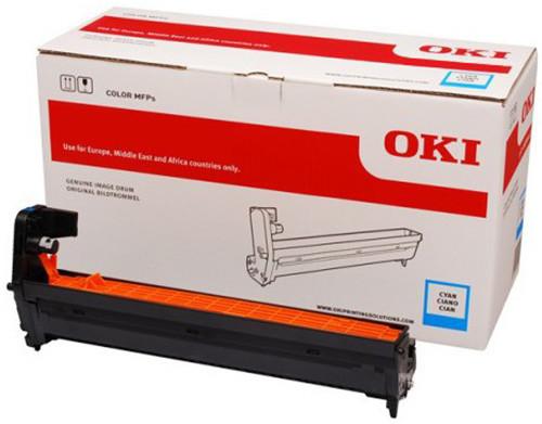 OKI 46507415, (30000 str.), cyan