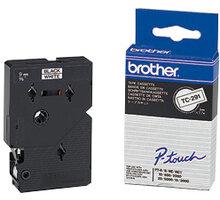 Brother TX-621, žlutá / černá (9mm) - TX621