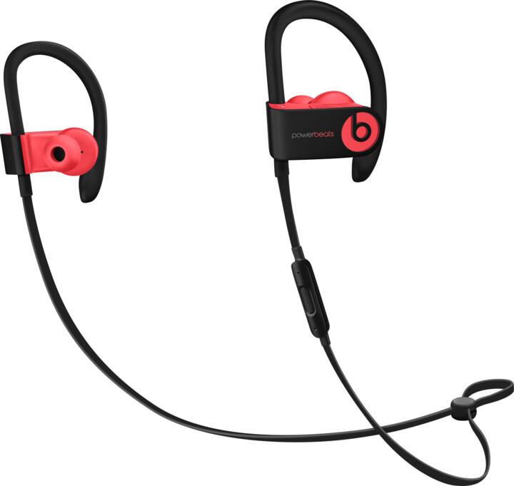 Beats Powerbeats3, křiklavě červená