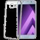 CELLY Laser - pouzdro lemování s kovovým efektem pro Samsung Galaxy A3 (2017), stříbrné