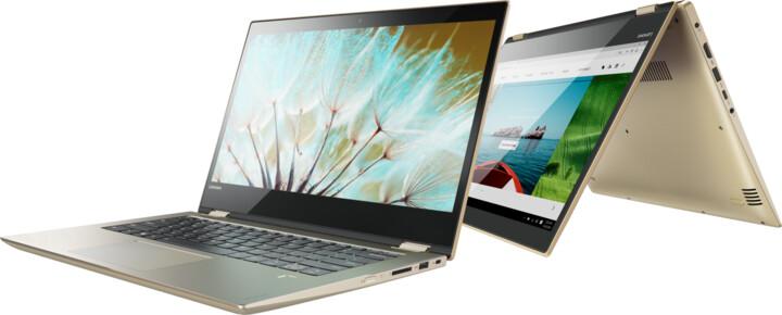 Lenovo Yoga 520-14IKBR, zlatá