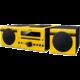 Yamaha MCR-B043, žlutá