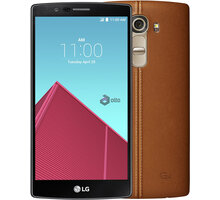 LG G4 (H818P), Dual Sim, hnědá/leather brown
