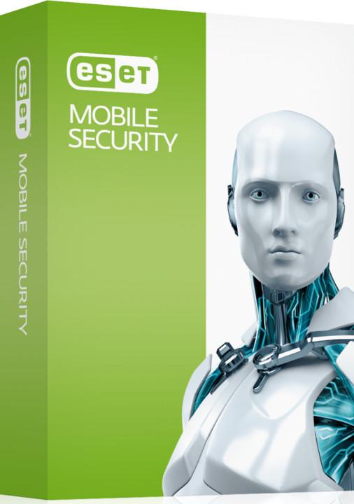 ESET Mobile Security 2 pro 3 zařízení na 1 rok, prodloužení licence