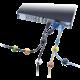 Connect IT kabelový klip SPOT, černá/hnědá/bílá