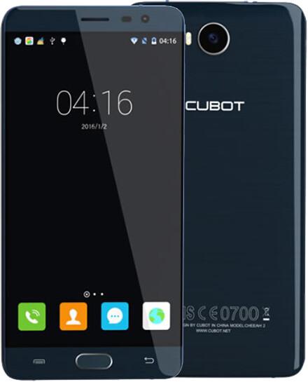 CUBOT Cheetah 2 32GB, modrá
