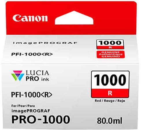 Canon PFI-1000R, red