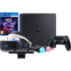 VR GAMING SET - PS4 Slim, 1TB  + Virtuální brýle PlayStation VR + PlayStation 4 - Move Controller, twin pack, černý + PlayStation 4 - Kamera v2 + PlayStation VR Worlds (PS4 VR)