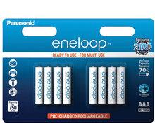 Panasonic BK-4MCCE/8BE ENELOOP AAA 8 ks + Zdarma BRC 24.012 RC Lam. Gallardo BUDDY TOYS (v ceně 399,-)