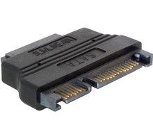 DeLock adaptér SATA 22pin male > Slim SATA female 13pin - 65156
