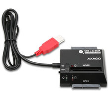 AXAGON USB2.0 - 3x SATA HDD CLONE adapter vč. AC - ADSA-3S