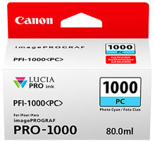 Canon PFI-1000PC, photo cyan - 0550C001