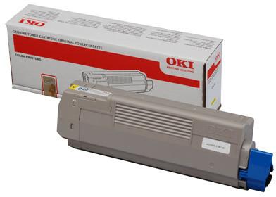 OKI 44315305, yellow