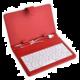 iGET 7'' pouzdro s klávesnicí - červená F7R