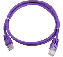 Gembird Eth Patch kabel cat5e UTP 3m - PP12-3M, fialová - PP12-3M/V