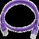 Gembird Eth Patch kabel cat5e UTP 3m - PP12-3M, fialová