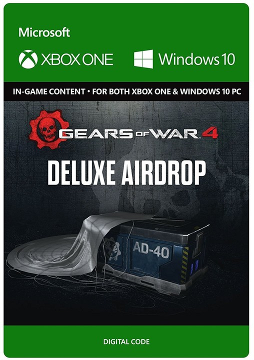 Gears of War 4 - Deluxe Airdrop (Xbox Play Anywhere) - elektronicky