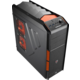 AeroCool XPredator X1 Evil Black Edition (Black/Orange)