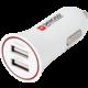 Skross USB nabíjecí autoadaptér SKROSS Dual USB Car Charger, 3400mA max, DC 12V